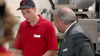 Arby's TV Spot, 'Triple Fresh Spinach' Featuring Bo Dietl - Thumbnail 6