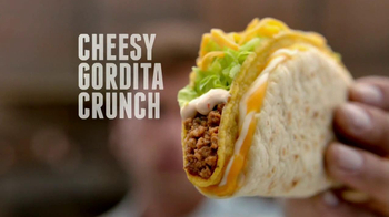 Taco Bell Cheesy Gordita Crunch TV Spot, 'Crunchy, Chewy, Cheesey' - Thumbnail 9