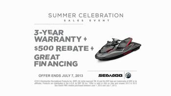 Sea-Doo TV Spot, 'Great Deals' - Thumbnail 5