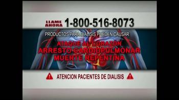 James C. Ferrell TV Spot, 'Pacientes de Dialisis' [Spanish]