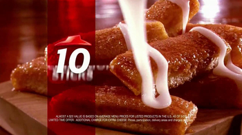 Pizza Hut $10 Any Dinner Box TV Spot, 'Living on a Budget' - Thumbnail 10