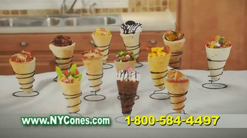 New York Cones TV Spot - 3 commercial airings