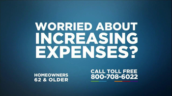 One Reverse Mortgage TV Spot, 'Worried About Expenses?' - Thumbnail 2