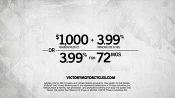 Victory Motorcycles TV Spot, 'Ride One and You'll Own One' - Thumbnail 10