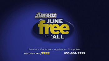 Aaron's Free For All Events TV Spot - Thumbnail 9