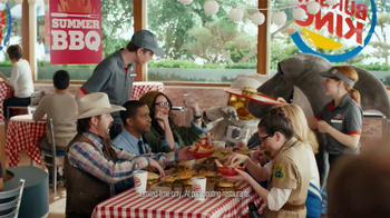 Burger King TV Spot, 'BBQ Summer' - 1681 commercial airings