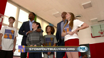 Fox Supports TV Spot, 'Bullying' Featuring Michael Strahan and Eddie George - Thumbnail 6