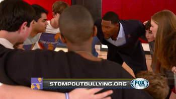 Fox Supports TV Spot, 'Bullying' Featuring Michael Strahan and Eddie George - Thumbnail 8