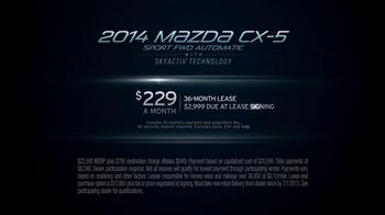 2014 Mazda CX-5 TV Spot, 'Edison' - Thumbnail 9