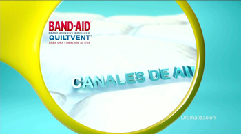 Band-Aid Quiltvent TV Spot, 'Burbujas' [Spanish] - Thumbnail 7