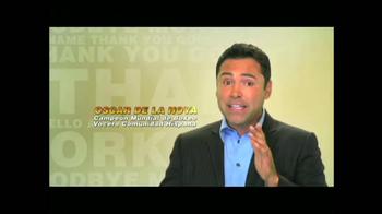 Clave Al Inglés TV Spot Con Oscar de la Hoya [Spanish] - Thumbnail 2