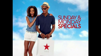 Macy's Memorial Day Weekend TV Spot, 'Sunday & Monday Specials' - Thumbnail 2