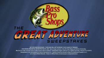 Bass Pro Shops The Great Adventure Sweepstakes TV Spot, Ft. Timmy Horton - Thumbnail 4