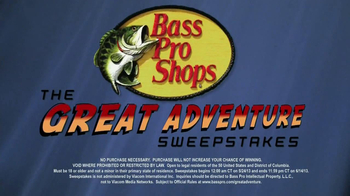 Bass Pro Shops The Great Adventure Sweepstakes TV Spot, Ft. Timmy Horton - Thumbnail 5