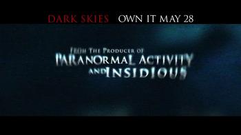 Dark Skies Blu-ray and DVD TV Spot - Thumbnail 1