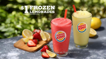 Burger King $1 Lemonade TV Spot, 'Dancing Dollar' - Thumbnail 8
