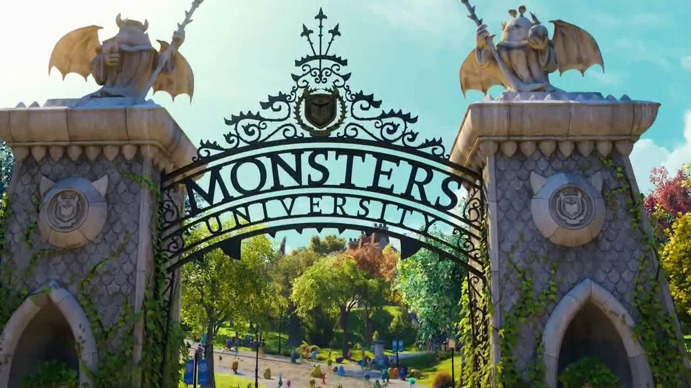 Monsters university tv movie trailer ispot voltagebd Images