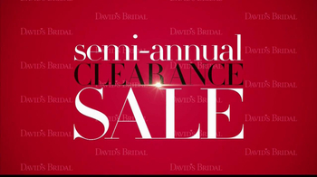 David's Bridal Semi-Annual Clearance Sale TV Spot - Thumbnail 2