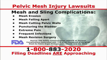 Willis Law Firm TV Spot, 'Pelvic Mesh Injury Lawsuit' - Thumbnail 4