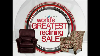 La-Z-Boy World's Greatest Reclining Sale TV Spot - Thumbnail 1