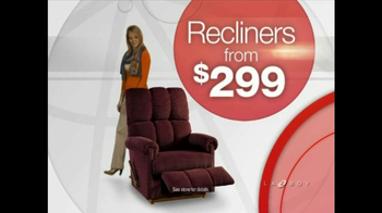 La-Z-Boy World's Greatest Reclining Sale TV Spot - Thumbnail 4
