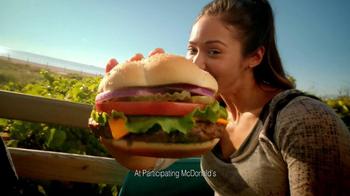 McDonald's Quarter Pounder Burgers TV Spot, 'Show Your Love' - Thumbnail 9
