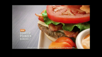 McDonald's Quarter Pounder Burgers TV Spot, 'Flavor Cravers' - Thumbnail 7
