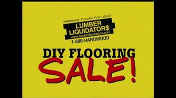 Lumber Liquidators DIY Flooring Sale TV Spot - Thumbnail 1