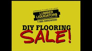 Lumber Liquidators DIY Flooring Sale TV Spot - Thumbnail 2