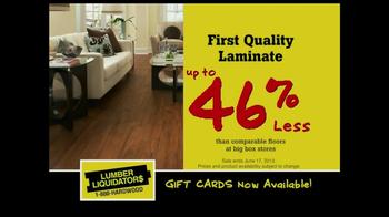 Lumber Liquidators DIY Flooring Sale TV Spot - Thumbnail 5