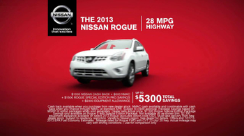 2013 Nissan Rogue TV Spot, 'Price' - Thumbnail 5
