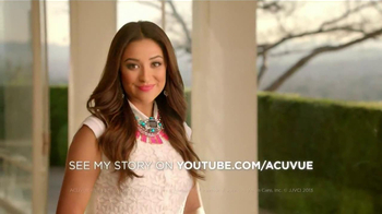ACUVUE TV Spot Featuring Shay Mitchell - 1 commercial airings
