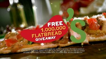 Chili's TV Spot, 'Free Flatbread' - 96 commercial airings