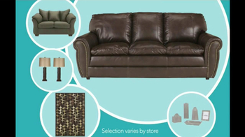 Ashley Furniture Homestore TV Spot, 'THe Works 14-piece Room Package' - Thumbnail 9