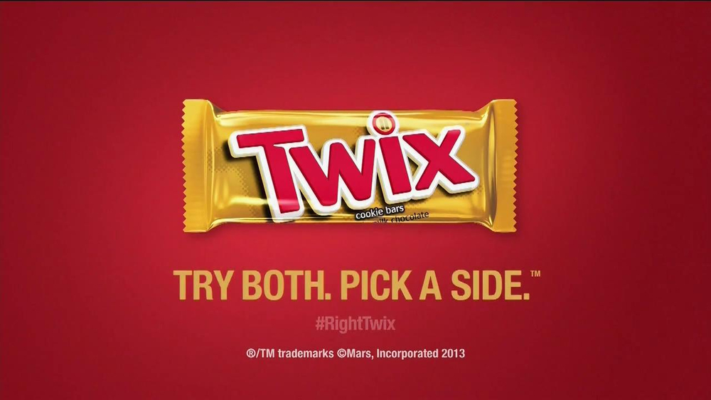 twix candy bar commercial need a