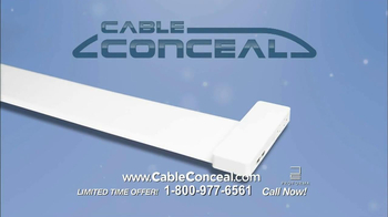 Cable Conceal  TV Spot, 'Home Entertainment' - Thumbnail 2