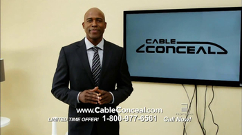 Cable Conceal  TV Spot, 'Home Entertainment' - 5 commercial airings