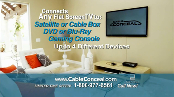 Cable Conceal  TV Spot, 'Home Entertainment' - Thumbnail 4