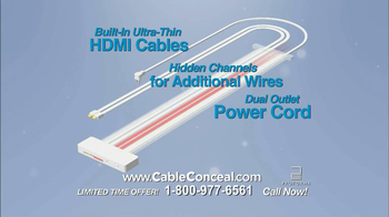 Cable Conceal  TV Spot, 'Home Entertainment' - Thumbnail 5
