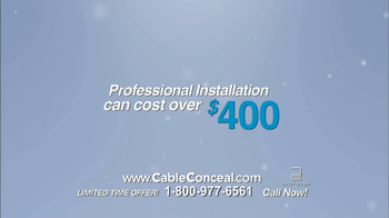 Cable Conceal  TV Spot, 'Home Entertainment' - Thumbnail 8