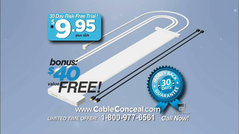 Cable Conceal  TV Spot, 'Home Entertainment' - Thumbnail 9