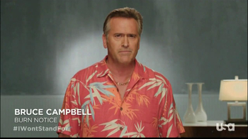 USA Network TV Spot, 'I Won't Stand For' Ft. Bruce Campbell - Thumbnail 3