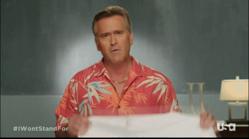 USA Network TV Spot, 'I Won't Stand For' Ft. Bruce Campbell - Thumbnail 4