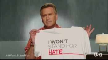 USA Network TV Spot, 'I Won't Stand For' Ft. Bruce Campbell - Thumbnail 5