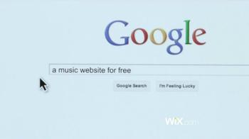 Wix.com TV Spot - Thumbnail 4