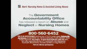 Sokolove Law TV Spot, 'Nursing Home Abuse' - Thumbnail 1