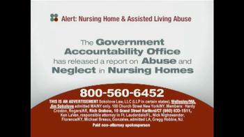 Sokolove Law TV Spot, 'Nursing Home Abuse' - Thumbnail 3