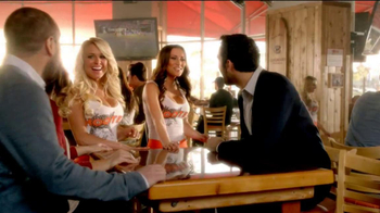 Hooters Memorial Day 10 Free Wings for Military Personnel TV Spot - Thumbnail 3
