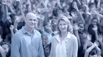 Longines TV Spot, \'Children\' Feat.  Andre Agassi, Steffi Graf