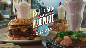 Denny's Red, White & Blue Specials TV Spot, 'Tastes American' - Thumbnail 9